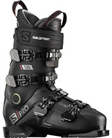 2021 Salomon S/Pro 120 flex ski boots with free custom boot fitting & fit guarantee available at Swiss Sports Haus 604-922-9107.