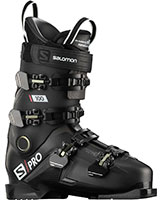 2021 Salomon S/Pro 100 flex ski boots available with free custom boot fitting & fit guarantee at Swiss Sports Haus 604-922-9107.