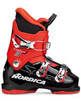 2021 Nordica Speedmachine Junior J3 three buckle ski boots available at Swiss Sports Haus 604-922-9107.