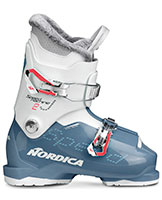 2021 Nordica Speedmachine Junior J2 two buckle junior girls ski boots available at Swiss Sports Haus 604-922-9107.