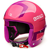 Briko Ski Race Helmet Vulcano FIS 6.8 Junior FIS approved adjustable available at Swiss Sports Haus 604-922-9107.